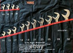 14pc Combination Angle Wrench Set METRIC