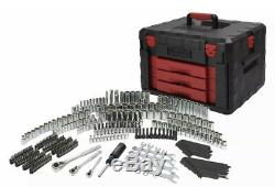 320 Piece Mechanics Repair Tool Set With Heavy Duty Tool Box Sockets Ratchets