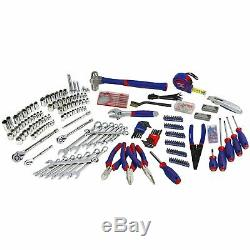 408-Piece Mechanics Tool Set with 3-Drawer Heavy Duty metal tool chest
