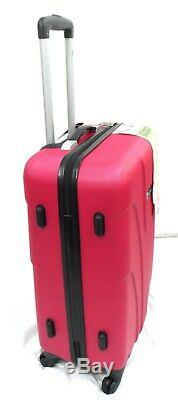 4 Wheel Lightweight Spinner Set of 3 Trolley Suitcase Luggage Case Cabin Bag