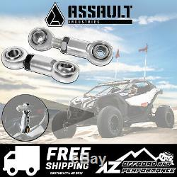 Assault Industries Front Sway Bar Links Kit for 2017-2019 Can Am Maverick X3