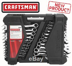 Craftsman 52 Pc Combination Wrench Set Inch Metric SAE Standard Midget Wrenches