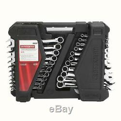 Craftsman 52pc Piece Combination Wrench Set MODEL 70699, SAE and Metric with Case