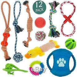 Dog Toys Puppy Rope Teething Chew Playtime And Teeth Cleaning Cotton Rope Toys