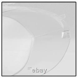 Extra Clear+Heavy Duty 07-12 BMW E70 X5 Replacement Headlight Lamp Cover Lens