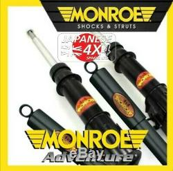 Fits MITSUBISHI DELICA 2.8TD 2 x MONROE ADVENTURE FRONT SHOCK ABSORBERS
