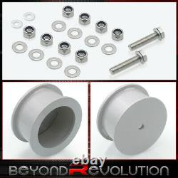 For 2006-2010 Jeep Commander XK 3 Front 3 Rear Suspension Full Lift Kit Silver