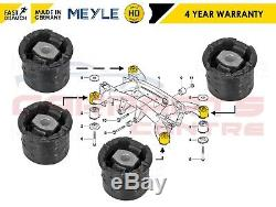For Bmw X5 E53 2000-2007 Rear Subframe Front & Rear Bushes Set Meyle Heavy Duty