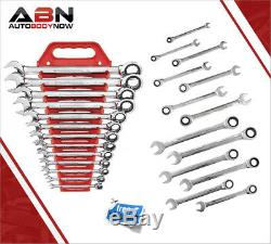 GearWrench 9312 13 Piece SAE Master Ratcheting Wrench Set