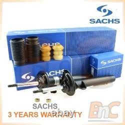 Genuine Sachs Heavy Duty Front Shock Absorbers + Dust Cover Kit Bmw 3 E46