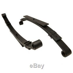 Golf Cart Club Car DS Front & Rear Heavy Duty Leaf Springs Complete Set