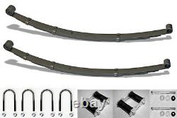 NEW! 1967 1973 Mustang Rear Leaf Springs Kit with shackles U bolts I-bolts Set