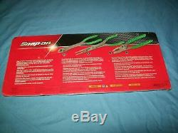 NEW Snap-on 3pc HeavyDuty Pliers Set includes PL330ACF Green Vinyl Grip SEALed