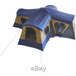 Ozark Trail 14-Person 4-Room Base Camp Cabin Tent With 4 Entrances Quick Set Up