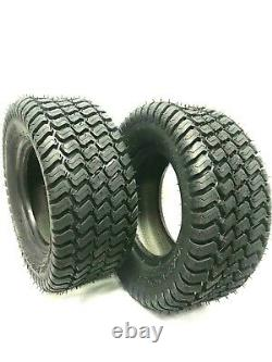 Set TWO 16x7.50-8 Lawn Tractor 4 Ply Rated Heavy Duty 16x7.50-8 NHS