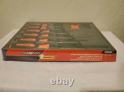 Snap On Tools New In Package 8 Pc Orange Srewdriver Set With Tray SGDX80BO