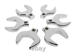 Sunex 6pc Jumbo SAE CrowFoot Wrenches Set 1/2 Drive Tools Crows Foot INCH 9722
