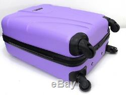 Super Lightweight Hard Shell 4 wheel Spinner Luggage Suitcases Trolley Set Of 3