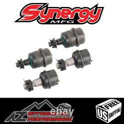 Synergy Mfg Heavy Duty Non-Knurled Front Ball Joint for Jeep TJ LJ XJ YJ ZJ (4)